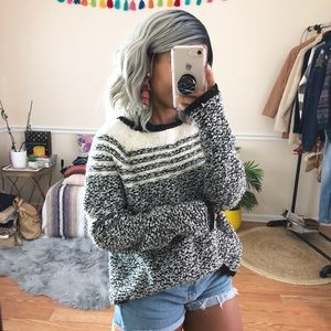 Lou & Grey Cozy Graphic Woolblend Sweater